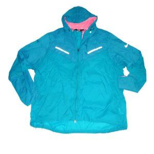 Nike Cyclone Windbreaker Running Jacket Blue 4XL
